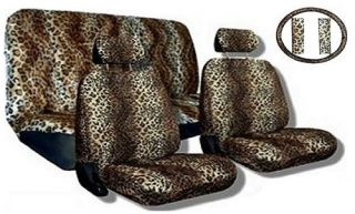 leopard car seat covers in Seat Covers
