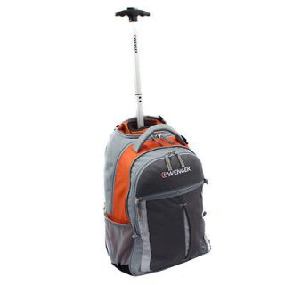 Wenger SwissGear BASSANO Collection 18 inch Rolling Carry On Backpack