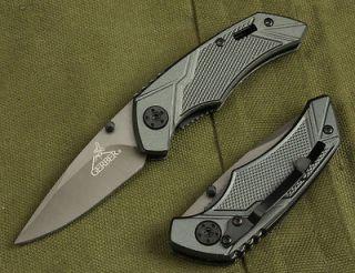 New GERBER Pocket Steel Saber Folding Knife 55