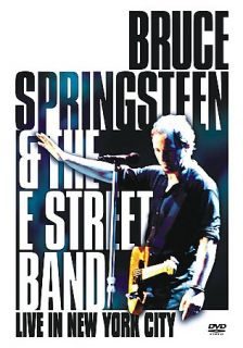 Bruce Springsteen the E Street Band   Live in New York City DVD, 2001