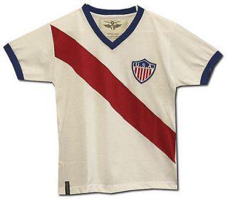 USA 1950 Home Shirt  Retro Soccer Jersey by Offside Retro  Brand New