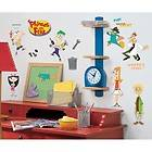 PHINEAS and FERB wall stickers 37 decals Perry Candace Doofenshmirtz