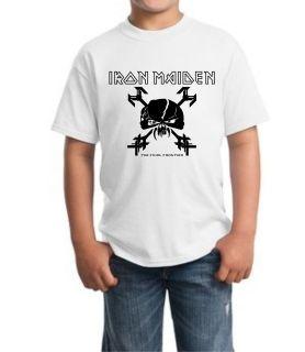 Iron Maiden Final Frontier Junior Kid T Shirt all sz XS XL 5 14 Years