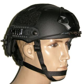 Special Forces Helmet ACH Bump Helmet W Mount, Side Rail Hole