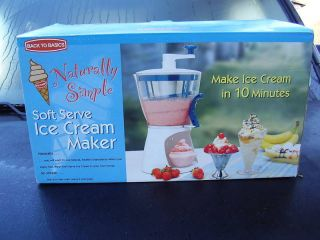 hand crank ice cream maker in Ice Cream Makers