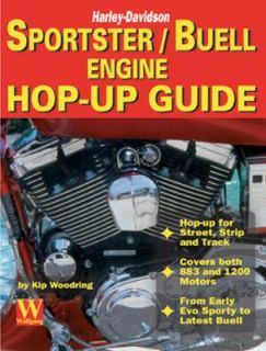 Harley Davidson Sportster Buell Engine Hop Up Guide by Kip Woodring
