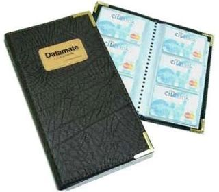 Office Business ID Credit Card Holder Organizer Book 120 B11