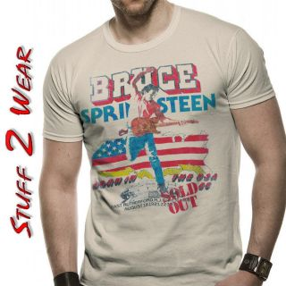 BRUCE SPRINGSTEEN BORN IN THE USA 1985 TOUR T Shirt OFFICIAL S M L XL