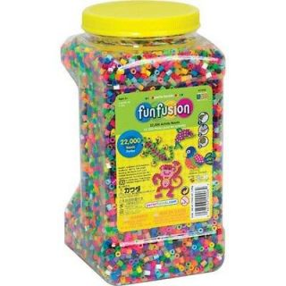 NEW 22,000 Perler Beads Bead Jar Multi Mix Colors