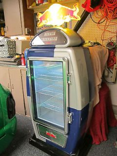 Newly listed Red Bull gas pump refrigerator