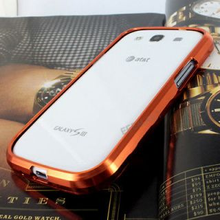 samsung galaxy s3 metal bumper case in Cases, Covers & Skins