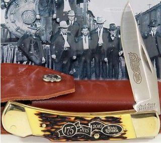 Schrade Uncle Henry Texas Ranger 175th Anniversary Series Lockback