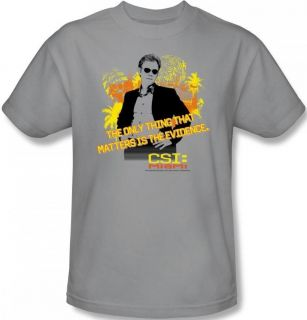 Women Ladies Youth Girls SIZES CSI Miami Horatio Caine T shirt top tee