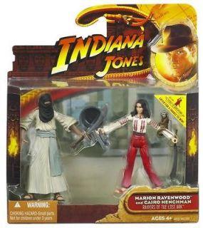 Jones 3 3/4 Hasbro action figure Marion and Cairo Henchman MOC