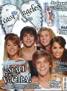 TEEN ANGELS   CASI ANGELES RARE Magazine Argentina March 2008 #12