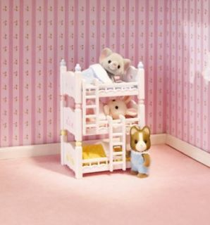 Calico Critters Triple Baby Bunk Bed Set ~BRAND NEW~