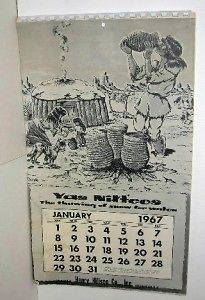 Calendar 1967 Navajo Native American Art by Condie