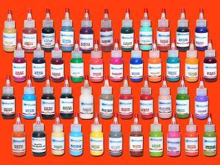 Starbrite INK 1oz Tattoo Supplies Blue Green White Black Purple Teal