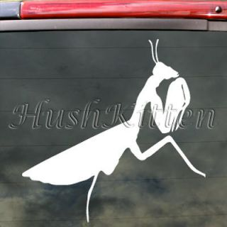 Praying Mantis Decal Car Truck Bumper Window Sticker