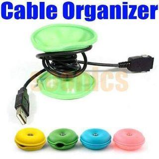 Turtle Cable Cord Wire Organizer Bobbin Winder Smart Wrap For