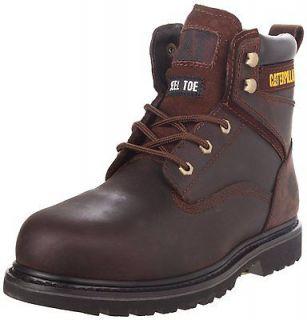 Caterpillar Mens RANGLER MR P90123 6 Leather STEEL TOE Work Boots