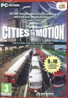 Cities in Motion & Metro Station, Real time City & Traffic Simulator