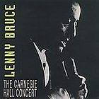 The Carnegie Hall Concert by Lenny Bruce (CD, Aug 1995, 2 Discs, Blue
