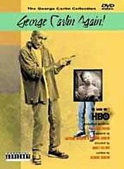 George Carlin Again DVD, 2001, Parental Advisory
