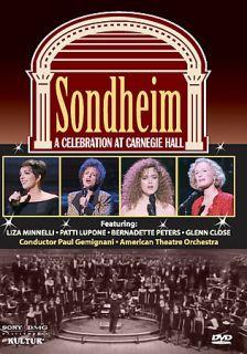 Sondheim   A Celebration at Carnegie Hall DVD, 2006