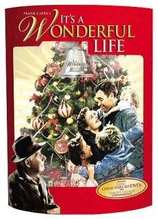 Its a Wonderful Life DVD, 2009, 2 Disc Set, P& Colorized B& Gift Set