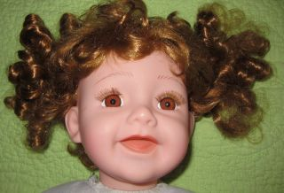 Limited Edition Cathay Collection 21 DOLL Baby Curly Ginger Hair