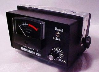 Mobile Redman Cb Stop RM1001S Ham Radio SWR TEST Meter Back Lighting