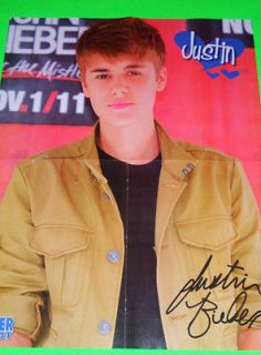 NEW   Justin Bieber Beige Jacket 16x20 Wall Poster b/w Taylor Swift