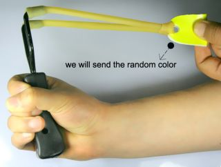 Outdoor slingshot wrist support handle catapult hunting