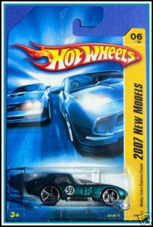 2007 Hot Wheels # 006 Shelby Cobra Daytona Coupe Teal