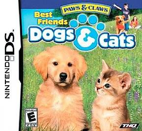 Paws & Claws Best Friends   Dogs & Cats (Nintendo DS, 2007