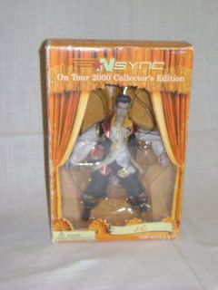 2000 Collectors Edition N sync J.C. Chasez Marionette Doll W Display