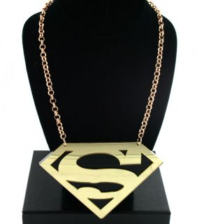 Sexy Stunning Basketball Wives Nicki Minaj Style Superman Chain