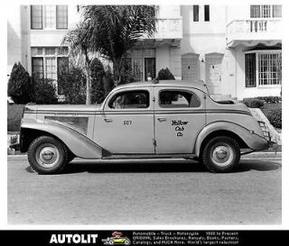 1940 Checker Taxi Cab Factory Photo