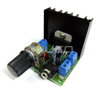 Digital Audio Amplifier 15W+15W Dual Channel Amplifier DC 12V Powered