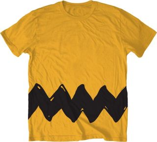 Charlie Brown Stripe Shirt Funny Peanuts