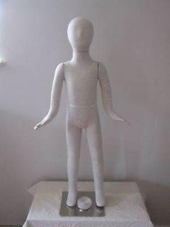 Two Children / Kids Bendable Flexible Dress Form, Body Form Mannequin