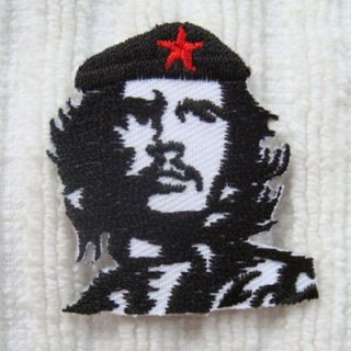 1PC. CHE GUEVARA EMBROIDERED IRON ON PATCH SHIRT SHORTS PANT HAT
