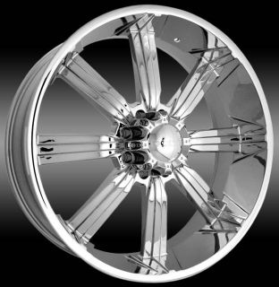 28 INCH DCENTI 903 CHROME RIMS AND TIRES CHEVROLET SUBURBAN 8X165