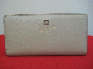NWT KATE SPADE GRANT PARK STACY WALLET GOOSE