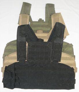 Condor MCR1 Modular Chest Rig 1 Tactical Vest MOLLE OD Green Black