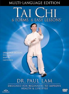 Tai Chi 6 Forms, 6 Easy Lessons DVD, 2002, Multi Language