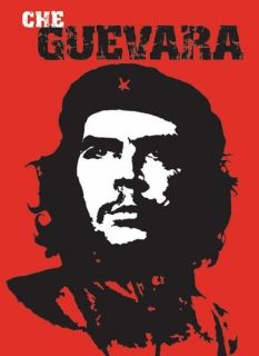 CHE GUEVARA POSTER   24 x 36 SHRINK WRAPPED   REVOLUTIONARY RED