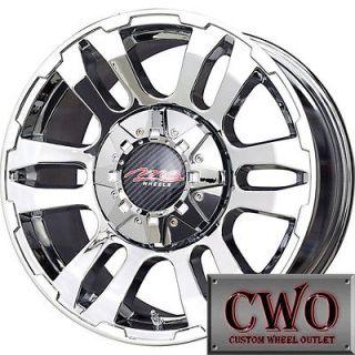 16 Chrome MB TKO Wheels Rims 8x165.1 8 Lug Chevy GMC Dodge Ram 2500