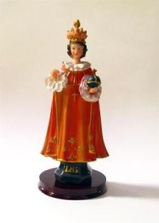 Infant of Prague Child Jesus Resin Statue 8 Inches Boxed Catholic NEW